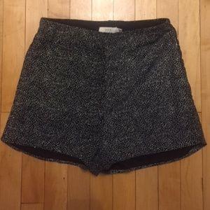 Lush Silver High Waist Shorts in women